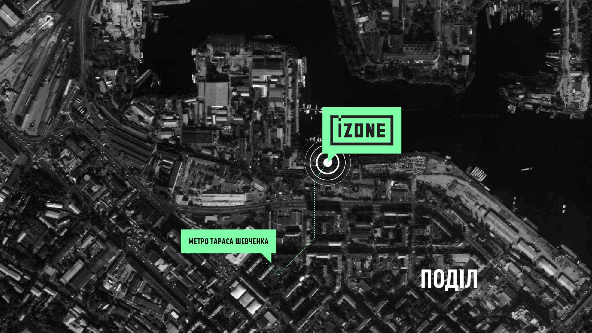 Карта IZONE